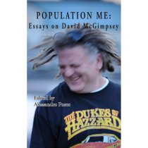 cover art for Population Me: Essays on David McGimpsey