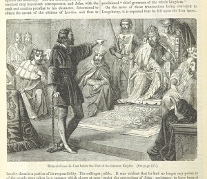 page from British History book - British Library Creative Commons