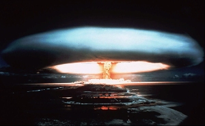 Image of nuclear bomb detonation, 1971