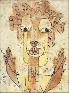 image of Klee's Angelus Novus