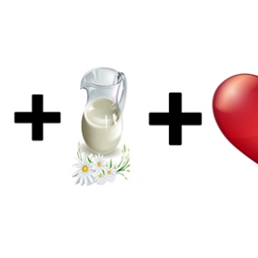 Eggs + Milk + [Heart] =Hero?