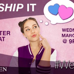 #WeShipIt Twitter Chat – March 15 – Tonight @9EST