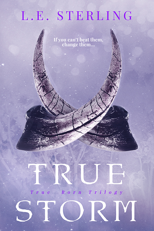 true storm cover with horns curved together