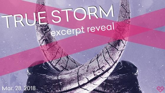 true storm excerpt reveal banner
