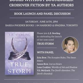 TRUE STORM LAUNCH AND YA PANEL – June 16, 2018