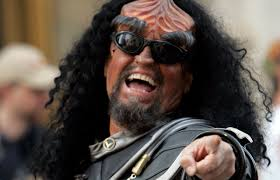 Happy Klingon - Todd Bennett - AP