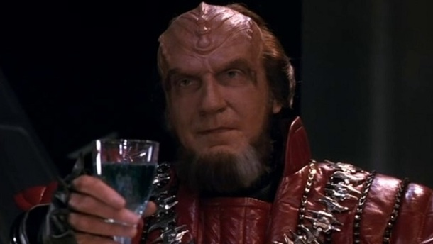 Klingon from Star Trek franchise